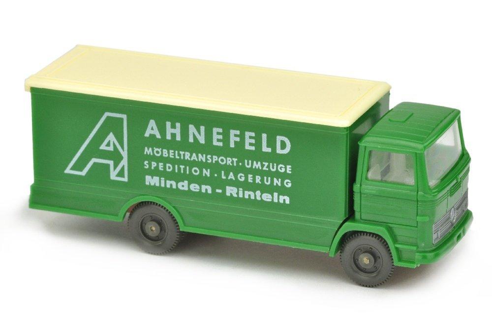 Ahnefeld/3 - Koffer-LKW MB 1317, h'-laubgruen