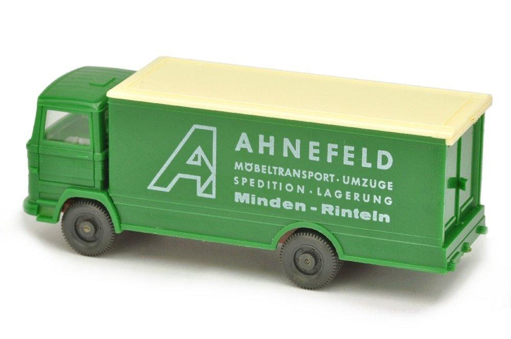 Ahnefeld/3 - Koffer-LKW MB 1317, h'-laubgruen - 2