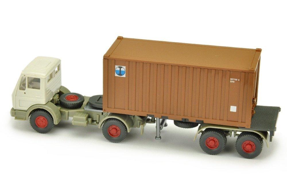 Inter Ocean - Container-Sattelzug MB 1617 - 2