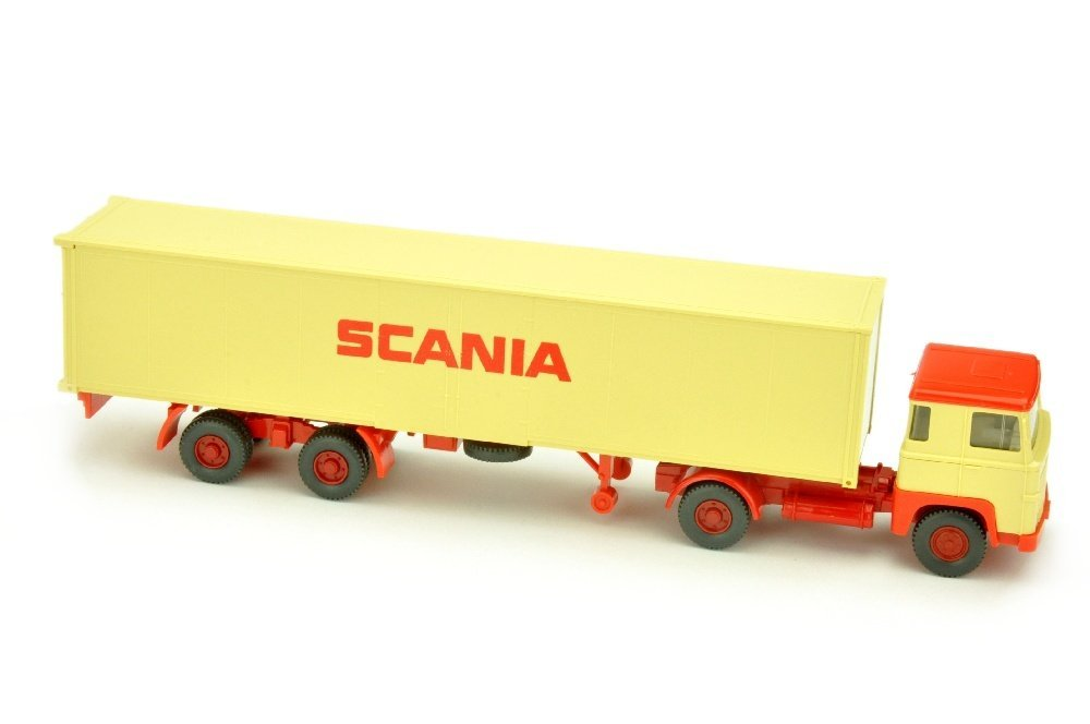 Scania/3 - Container-Sattelzug Scania 111