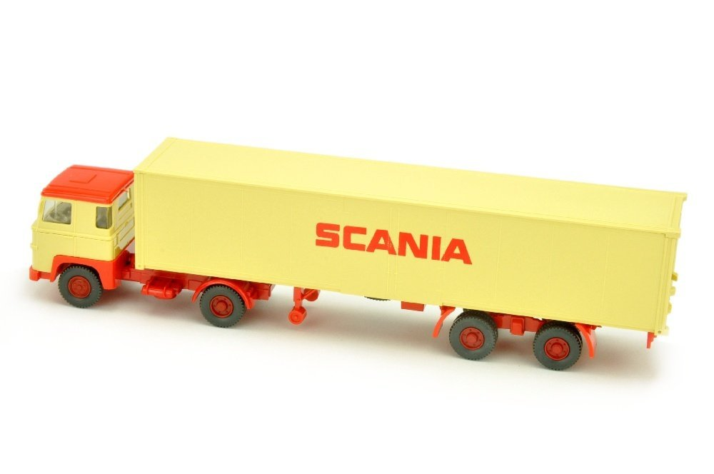 Scania/3 - Container-Sattelzug Scania 111 - 2