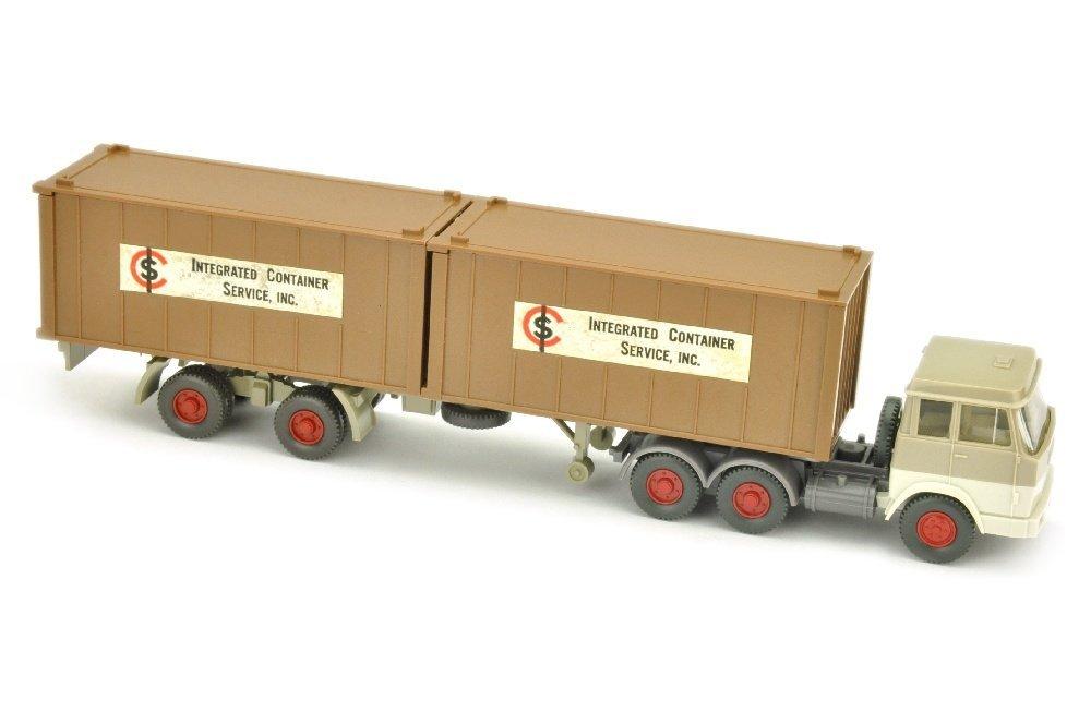 ICS/B - 2x 20ft-Container lehmbraun