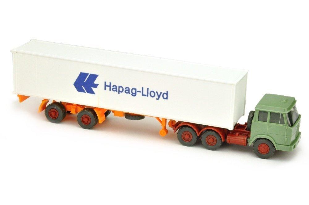 Hapag-Lloyd/7FF - Hanomag-Henschel, resedagruen