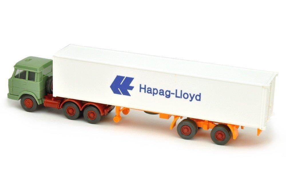 Hapag-Lloyd/7FF - Hanomag-Henschel, resedagruen - 2