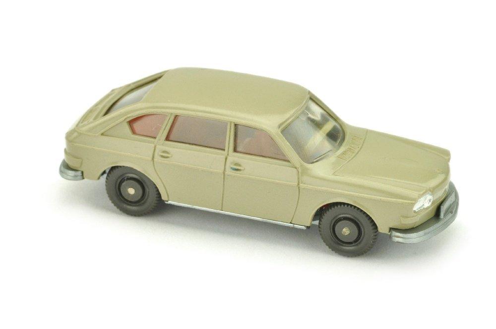 VW 411, olivgrau (Scheinwerfer einteilig)