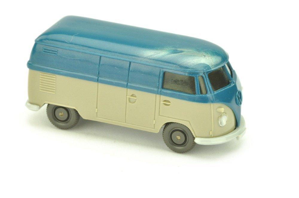 VW T1 Kasten (neu), azurblau/olivgrau