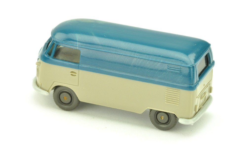 VW T1 Kasten (neu), azurblau/olivgrau - 2
