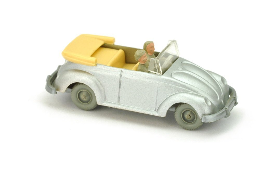 VW Kaefer Cabrio (Typ 2), silbern lackiert