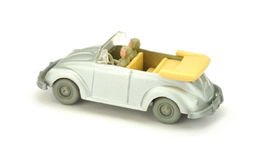 VW Kaefer Cabrio (Typ 2), silbern lackiert - 2