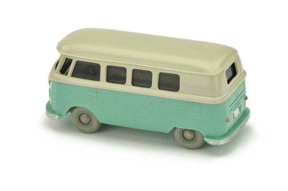 VW T1 Bus (alt), kieselgrau/tuerkis - 2