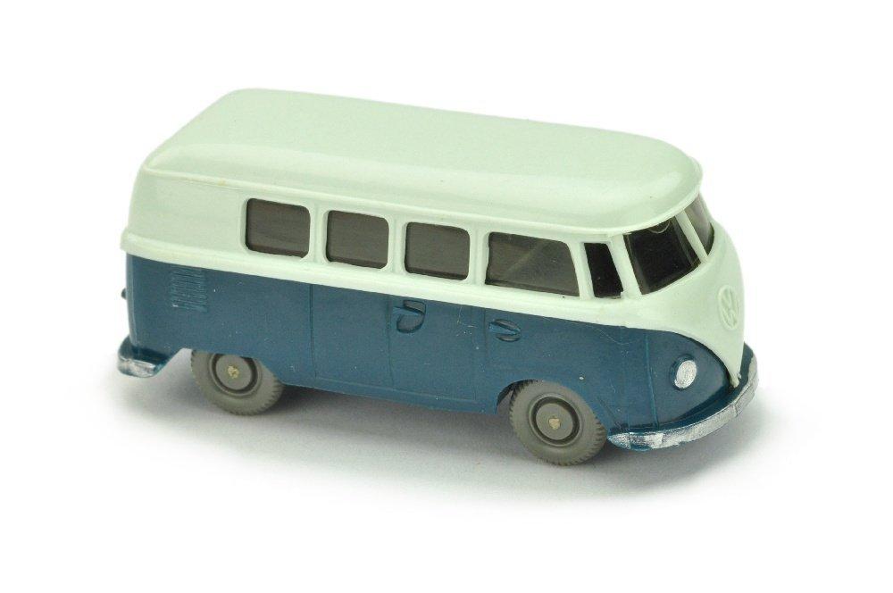 VW T1 Bus (alt), papyrusweiss/d'-azurblau
