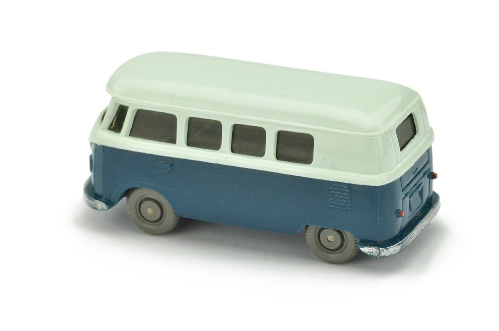 VW T1 Bus (alt), papyrusweiss/d'-azurblau - 2