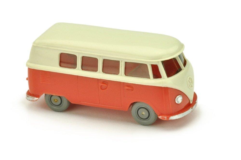 VW T1 Bus (alt), perlweiss/rose