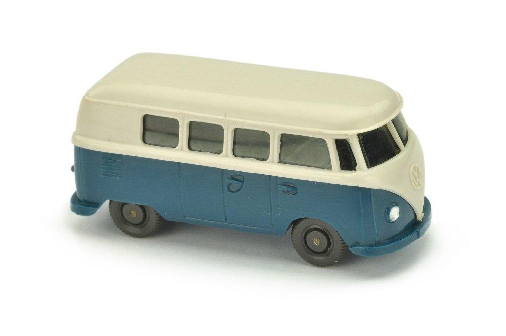 VW T1 Bus (alt), braunweiss/d'-azurblau