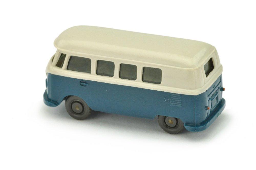 VW T1 Bus (alt), braunweiss/d'-azurblau - 2