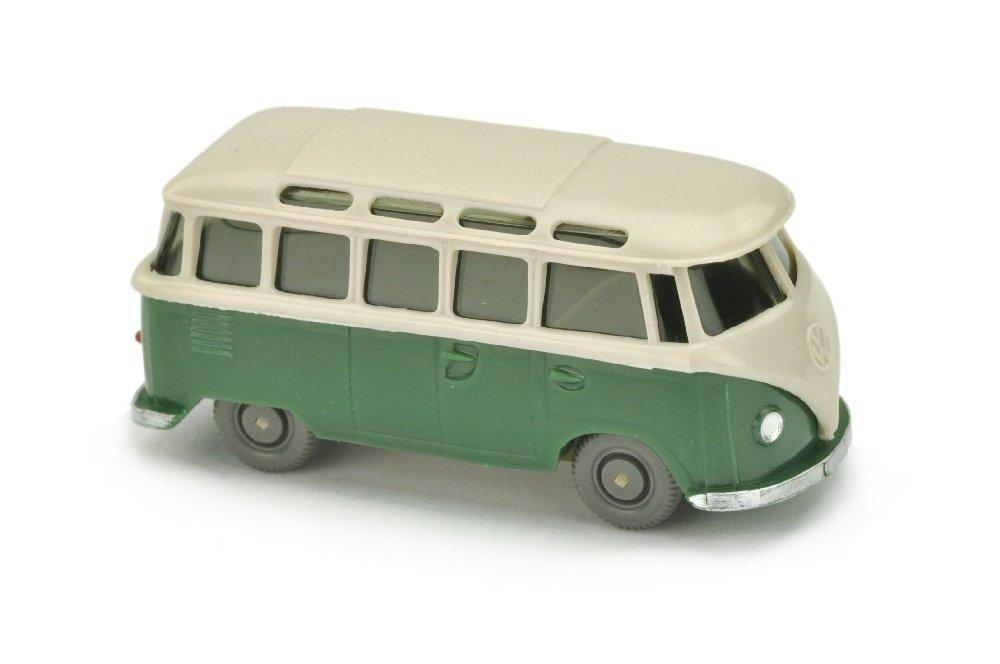VW T1 Sambabus, braunweiss/diamantgruen (m.OPS)