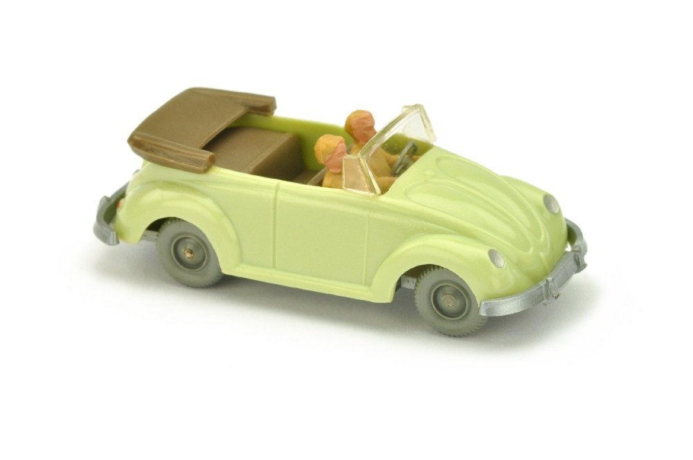 VW Kaefer Cabrio (Typ 2), h'gruenbeige (LR silbern)