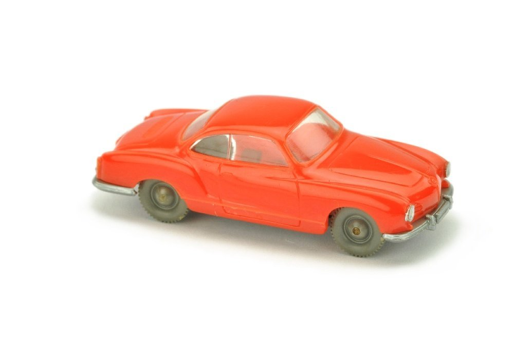 VW Karmann Ghia, orangerot