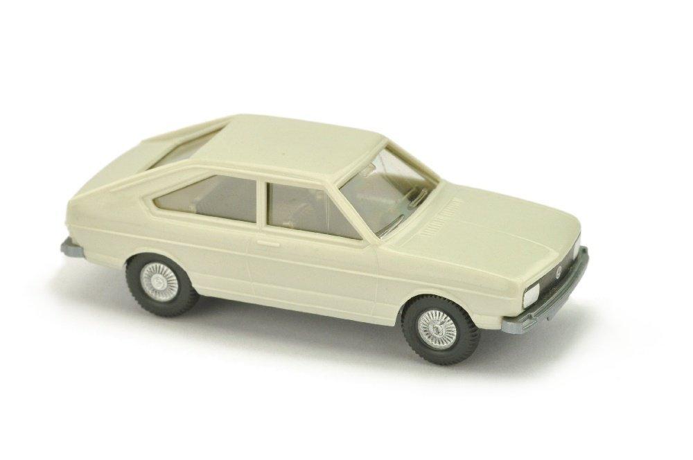 "VW Passat, grauweiss (Grill mit ""VW""-Emblem)"