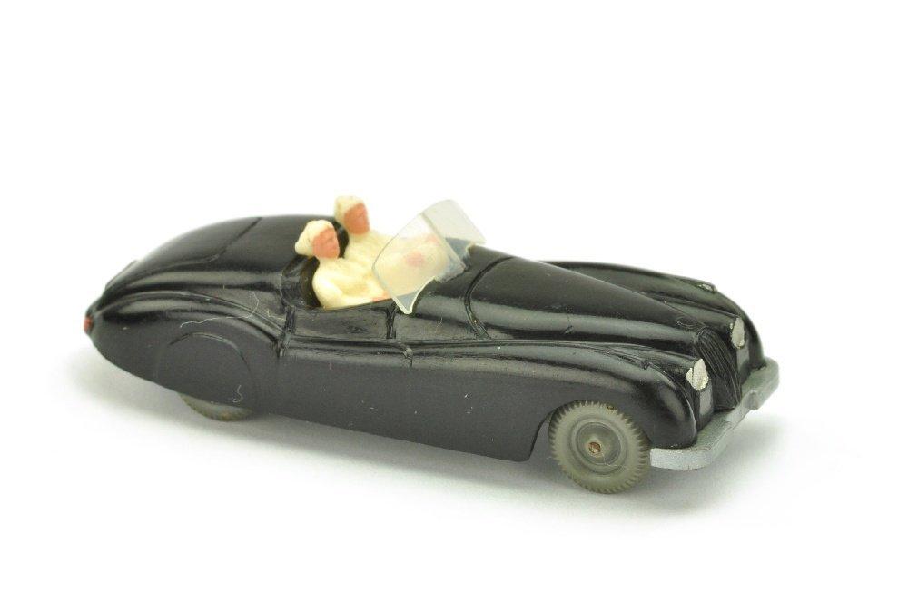 Jaguar XK (Typ 1), schwarz (Figuren weiss !)