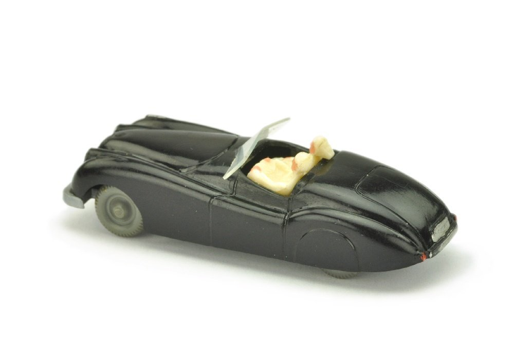Jaguar XK (Typ 1), schwarz (Figuren weiss !) - 2
