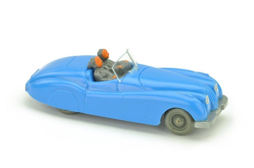 Jaguar XK (Typ 1), signalblau