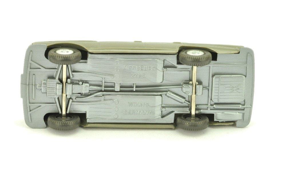 Mercedes 220 Heckflosse, betongrau (mit OPS) - 3
