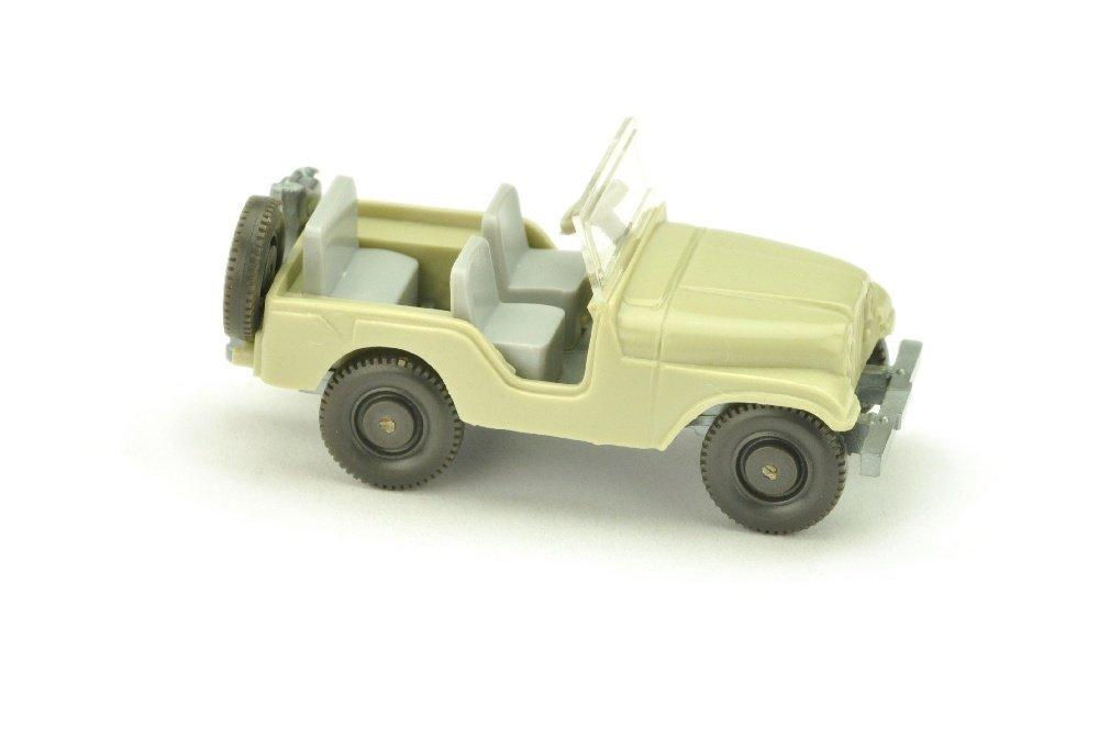 Jeep (Typ 5), hellgelbgrau