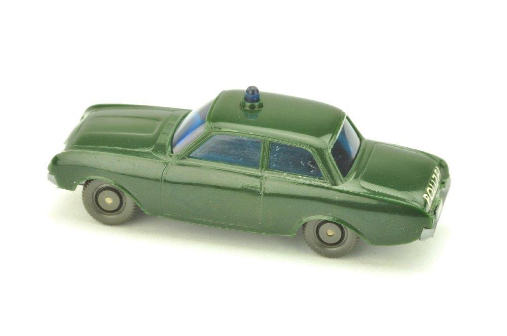 Polizeiwagen Ford Badewanne, tannengruen - 2