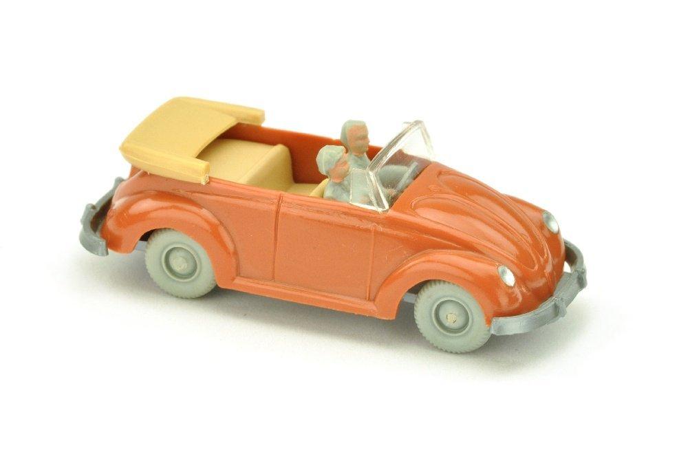 VW Kaefer Cabrio (Typ 2), korallenrot (LR silbern)