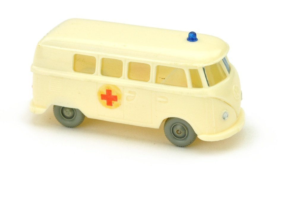 VW T1 Bus Rotkreuz, cremeweiss (Abziehbild)