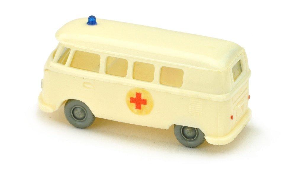 VW T1 Bus Rotkreuz, cremeweiss (Abziehbild) - 2