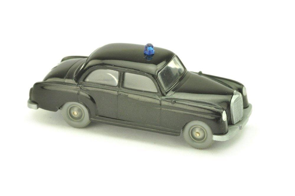 Polizeiwagen MB 180, schwarz