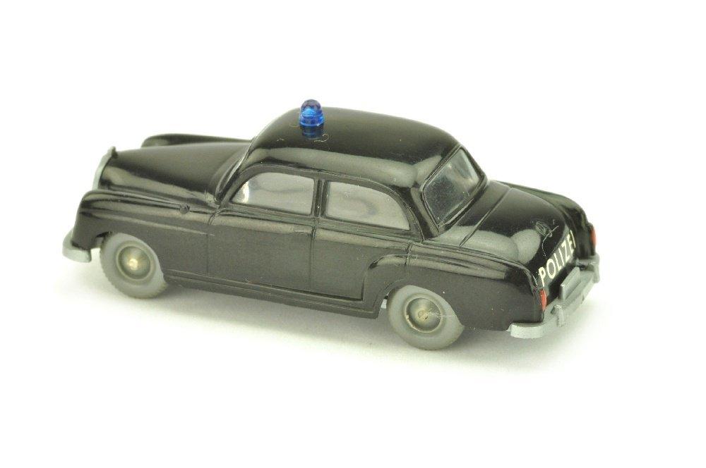 Polizeiwagen MB 180, schwarz - 2