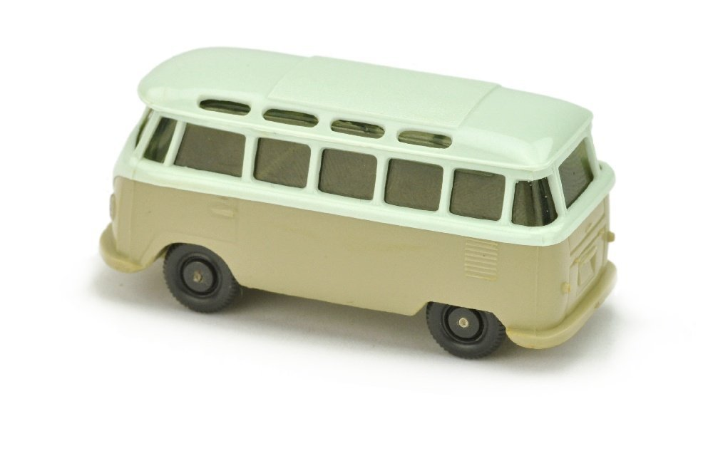 VW T1 Sambabus, papyrusweiss/hellgelbgrau - 2
