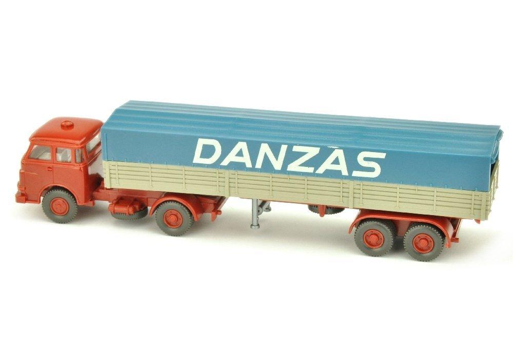 Pritschen-Sattelzug MAN 10.230 Danzas - 2