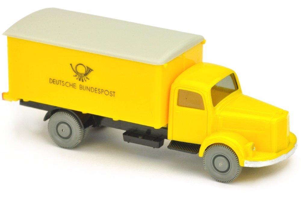 Postwagen MB 3500 Bundespost, gelb/schwarz