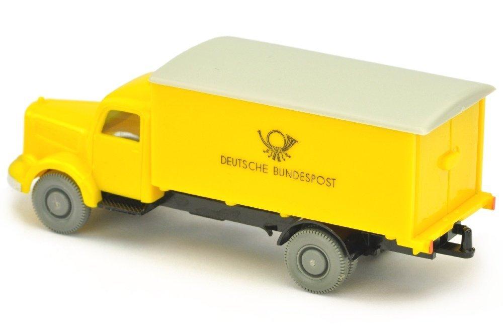 Postwagen MB 3500 Bundespost, gelb/schwarz - 2