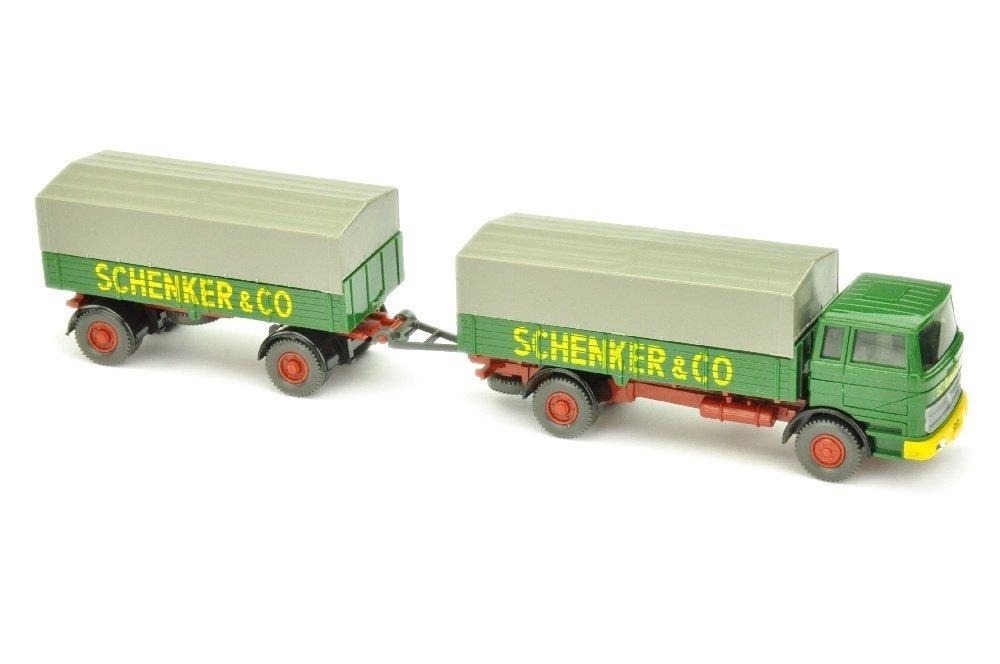 Lastzug MB 1620 Schenker