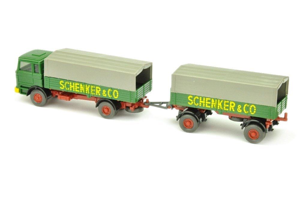 Lastzug MB 1620 Schenker - 2