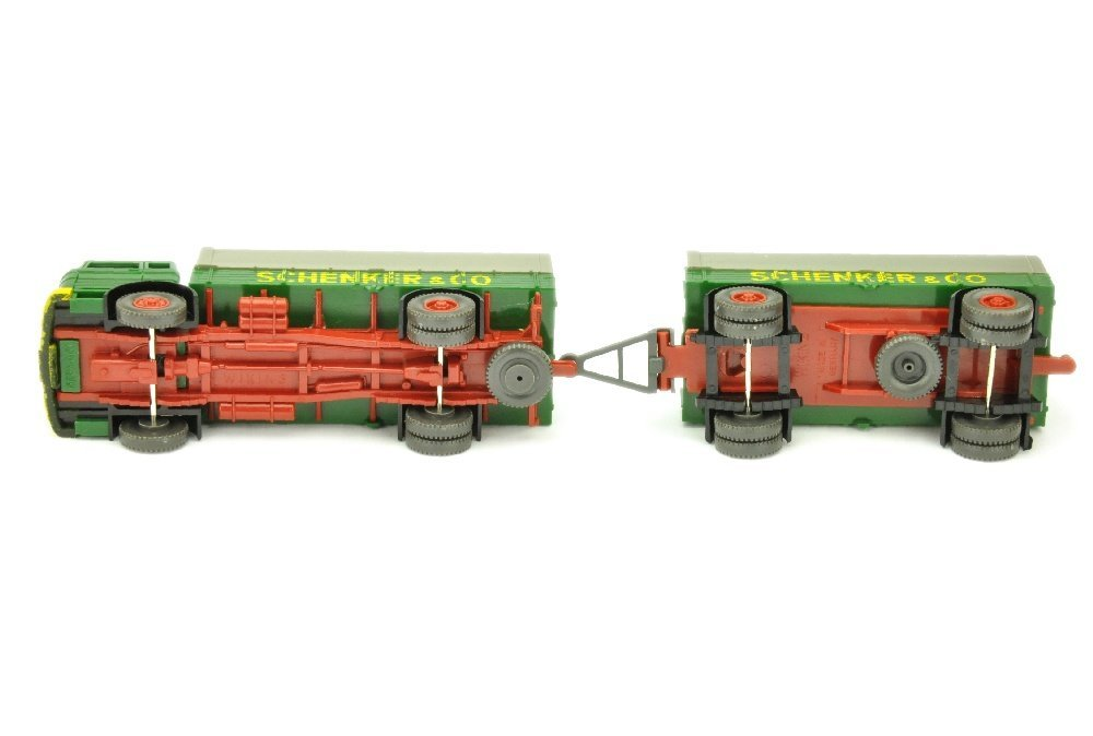 Lastzug MB 1620 Schenker - 3