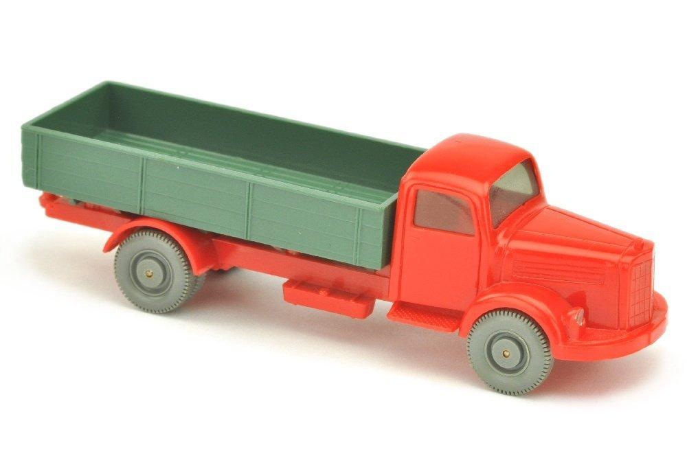 MB 3500 Pritsche, rot/graugruen/rot