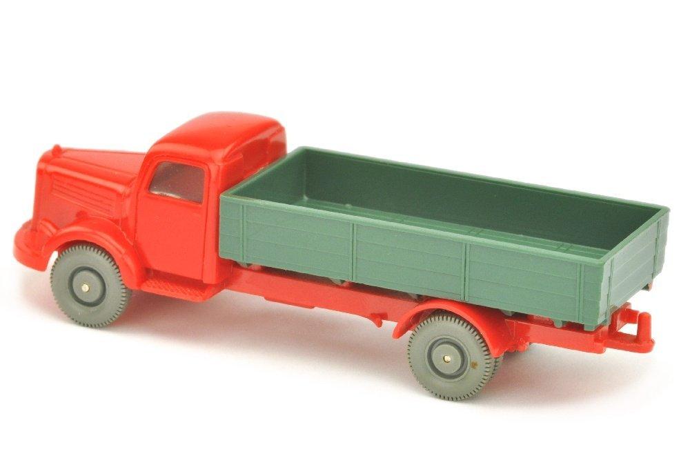 MB 3500 Pritsche, rot/graugruen/rot - 2