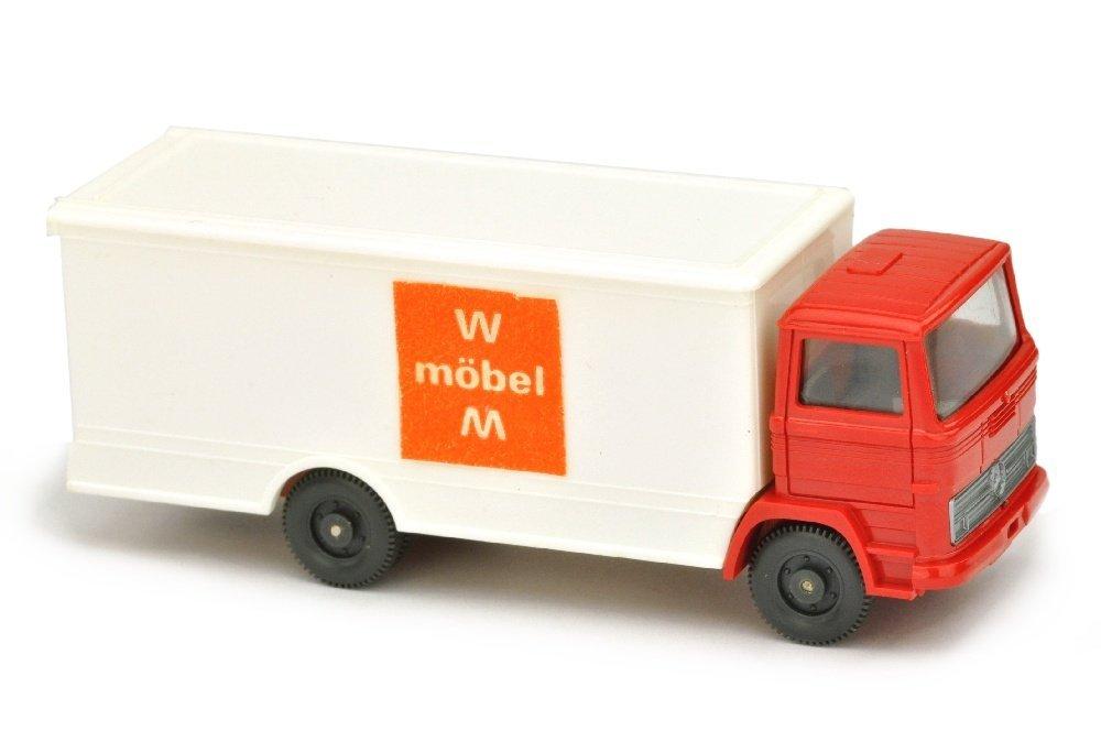 Koffer-LKW MB 1317 WM Moebel