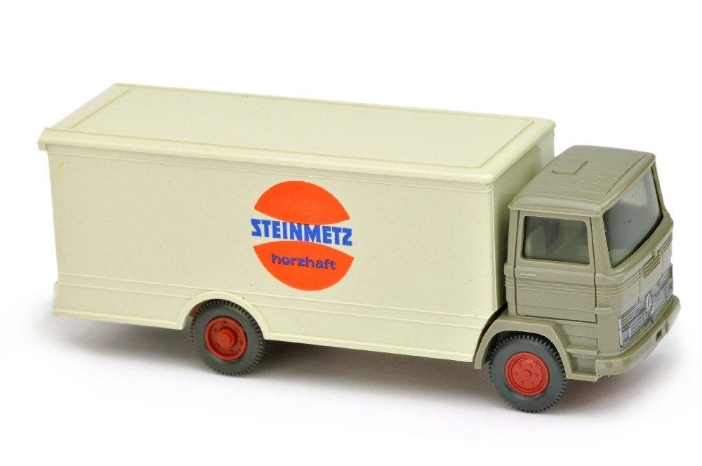 Koffer-LKW MB 1317 Steinmetz (Kabine betongrau)