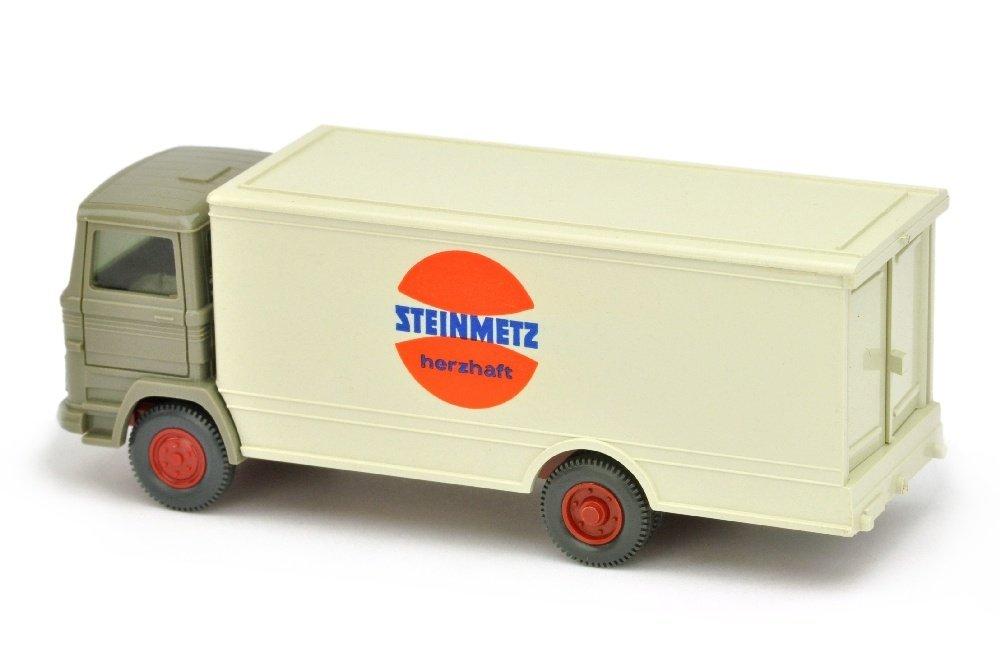 Koffer-LKW MB 1317 Steinmetz (Kabine betongrau) - 2