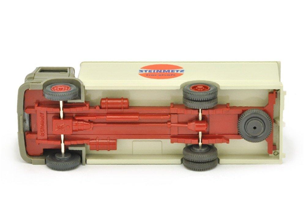 Koffer-LKW MB 1317 Steinmetz (Kabine betongrau) - 3