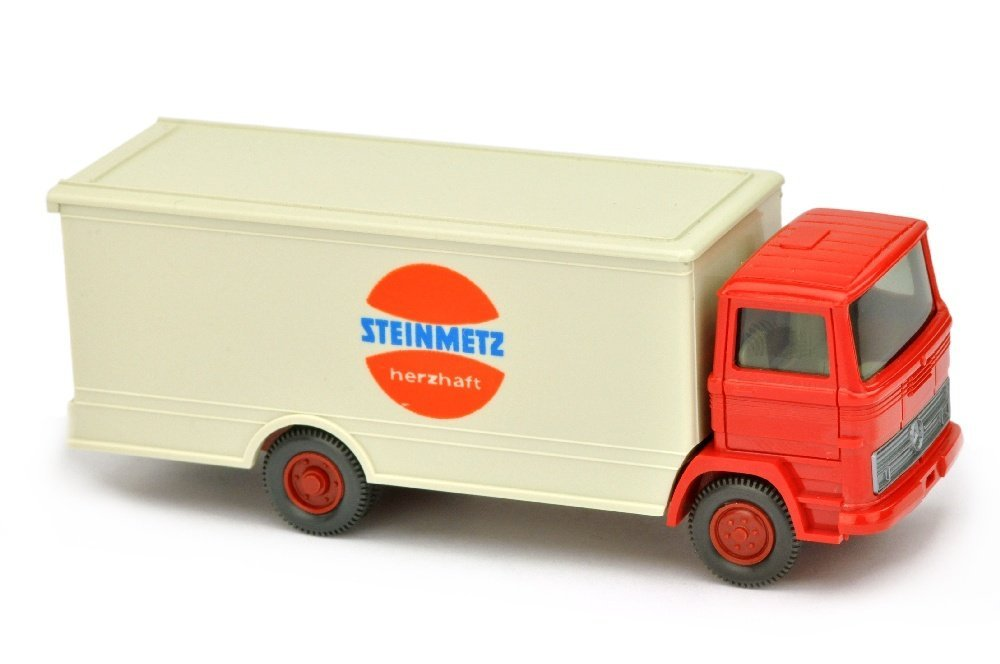 Koffer-LKW MB 1317 Steinmetz (Kabine rot)