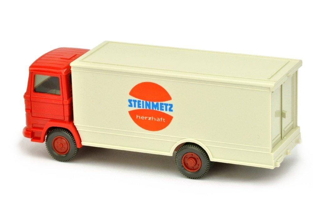 Koffer-LKW MB 1317 Steinmetz (Kabine rot) - 2