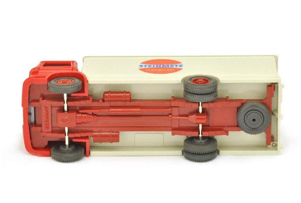 Koffer-LKW MB 1317 Steinmetz (Kabine rot) - 3